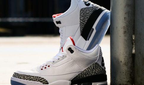 2月14日発売予定 NIKE Air Jordan 3 Retro(エアジョーダン 3 レトロ) OG 'WHITE CEMENT'