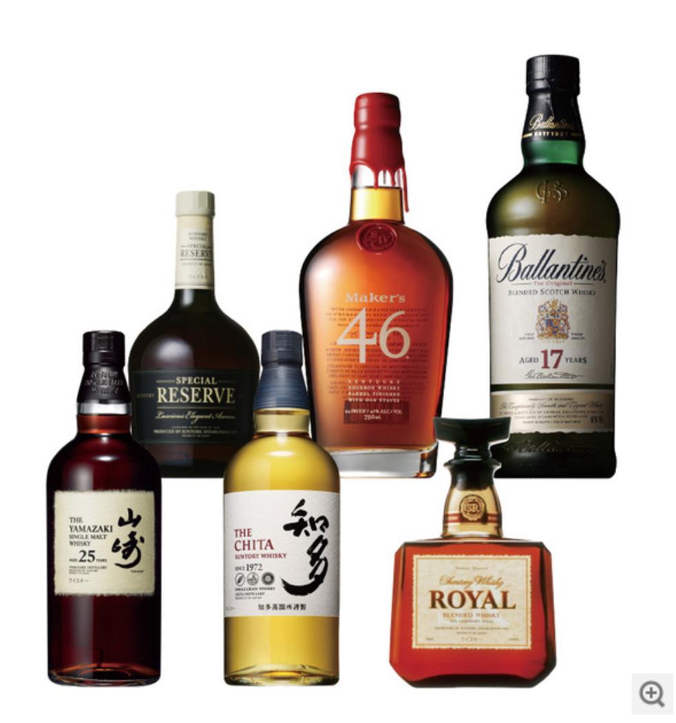 7月12日発売予定 山崎25年+おすすめサントリーウイスキー 6本セット