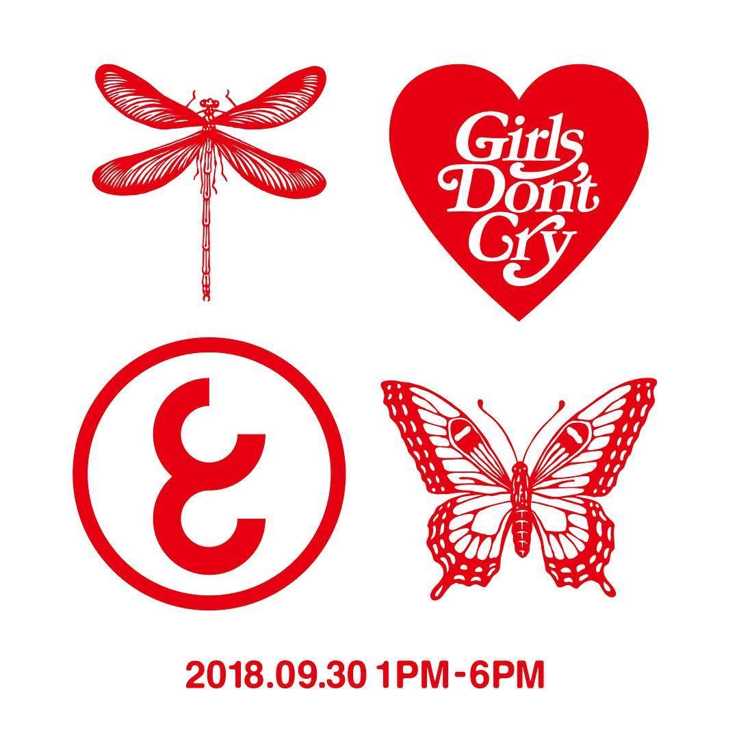 9月30日発売予定 CAREERING x Girls Don't Cry(キャリアリング x ガールズ ドント クライ)