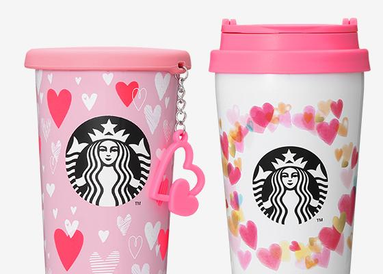 1月16日発売開始 STARBUCKS COFFEE JAPAN VALENTINE'S DAY LIMITED ITEM(スターバックス コーヒー ジャパン バレンタインズ デイ リミテッド アイテム)