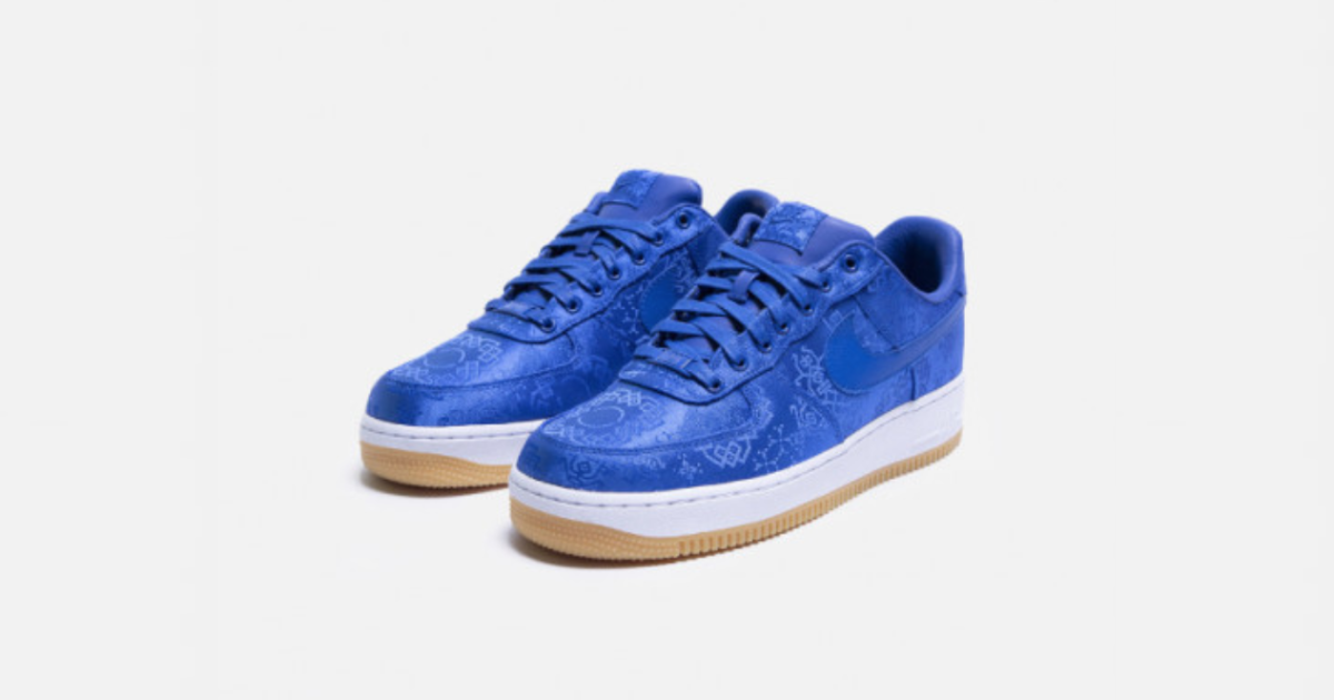 【11月2日発売開始】CLOT X NIKE AIR FORCE 1