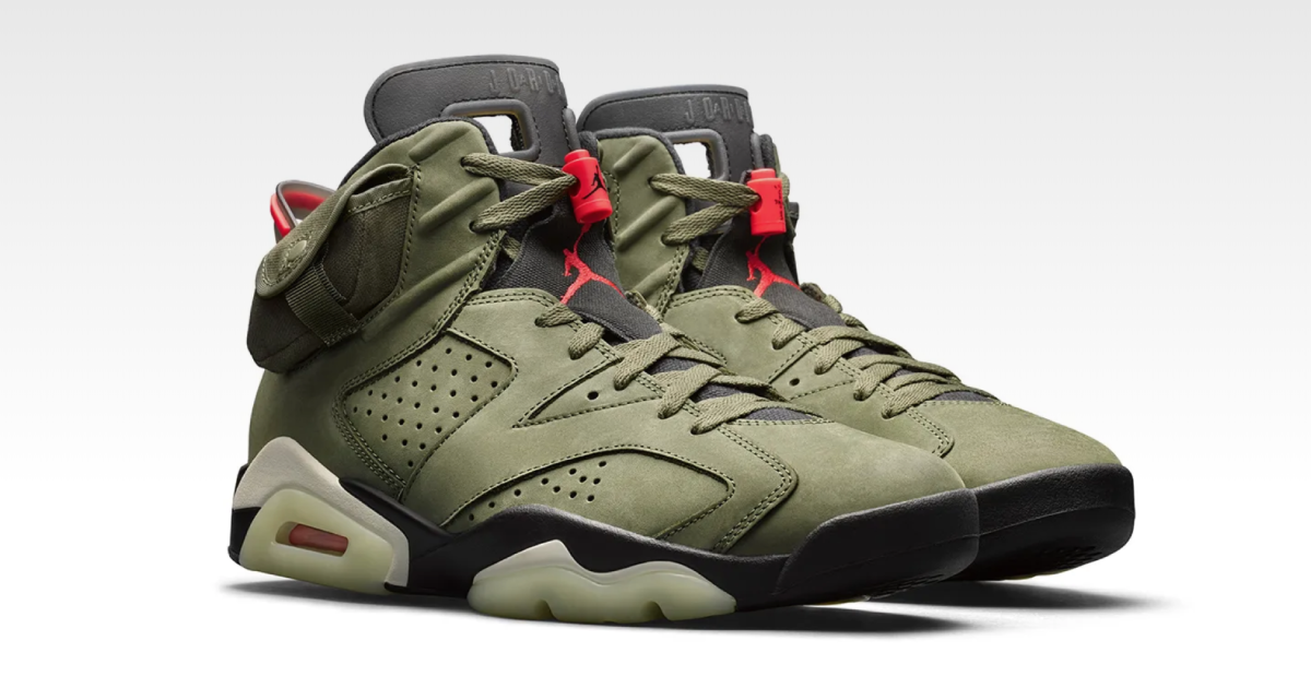 【10月11日発売開始】NIKE AIR JORDAN 6 X TRAVIS SCOTT
