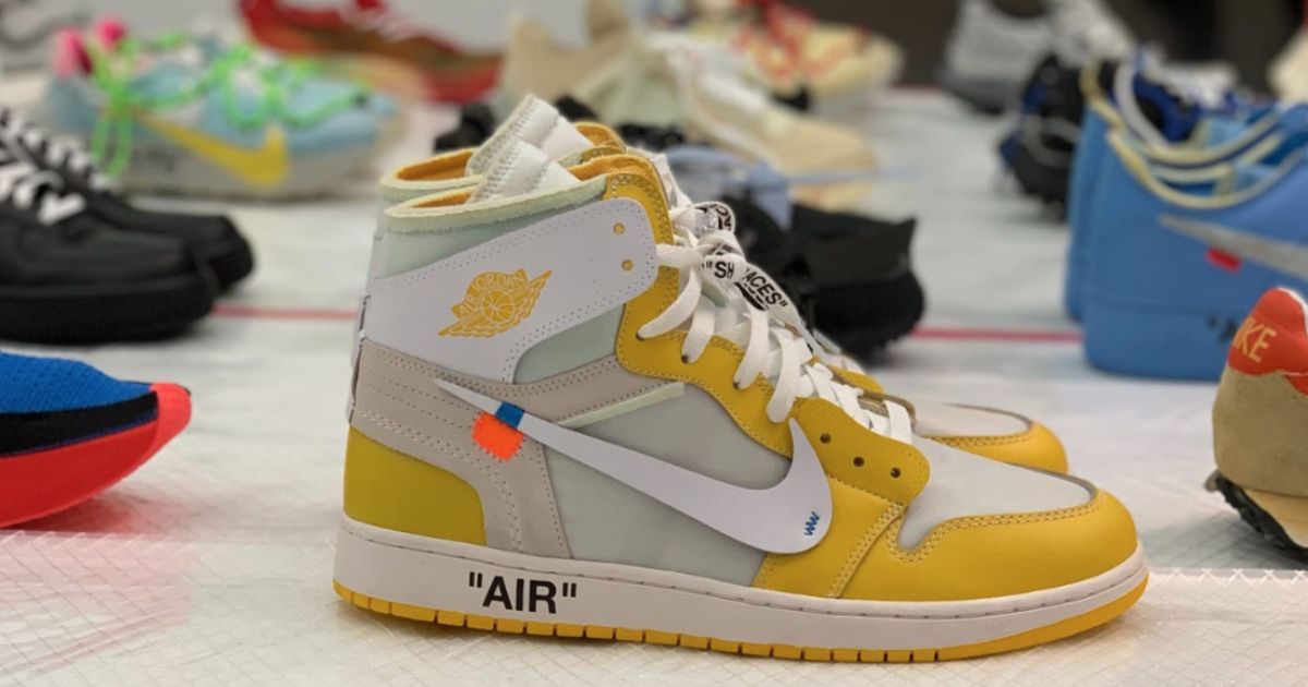【近日発売開始】OFF-WHITE X  NIKE AIR JORDAN 1