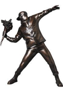 flower-bomber-bronze-statue