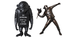 flower-bomber-bronze-statue-monkey-sign-reverse-ver
