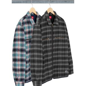 quilted-plaid-zip-up-shirt
