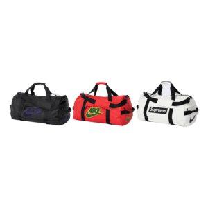 supreme-nike-leather-duffle bag
