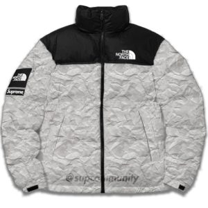 supreme-the-north- face-paper-crumble-nuptse Jacket