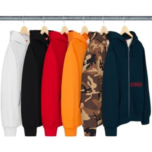 thermal-zip-up- hooded- sweatshirt