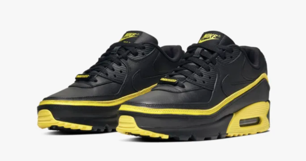 undefeated-x-nike-air-max-90-opti-yellow