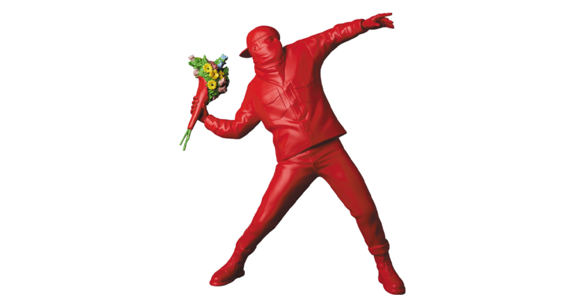 【1月25日発売開始】FLOWER BOMBER RED Ver.(フラワーボンバー レッド バージョン)