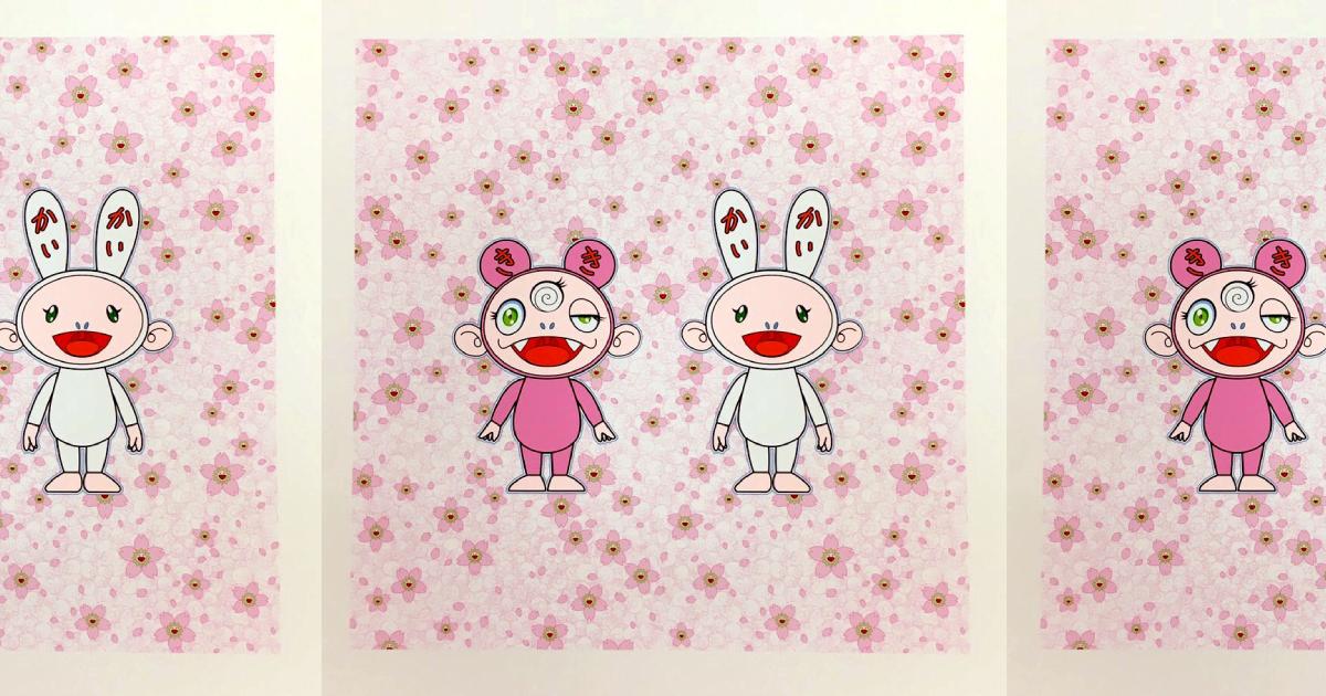 【2月25日発売開始】TONARI NO ZINGARO 村上隆新作版画