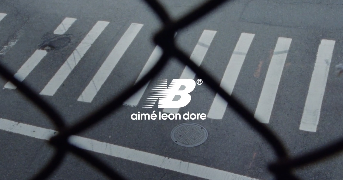 【3月12日抽選開始】AIME LEON DORE X NEW BALANCE(エメ レオン ドレ x ニューバランス)