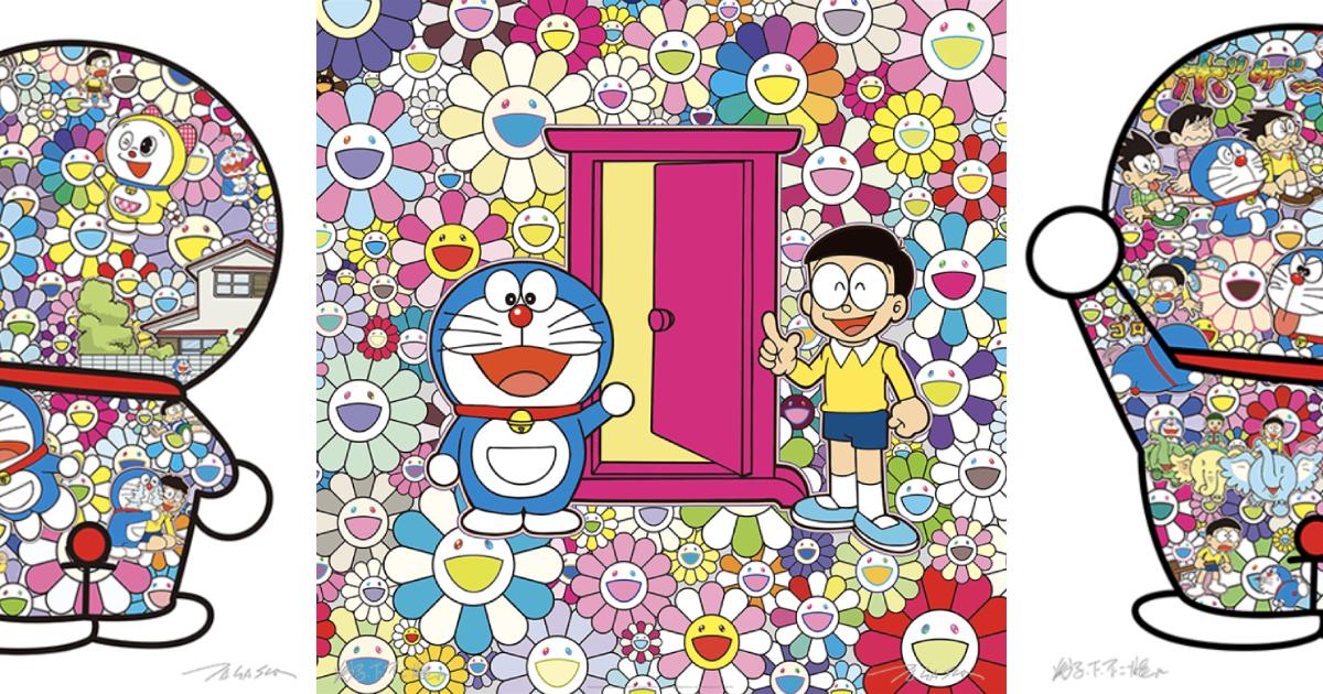 【3月19日抽選締切】村上隆×ドラえもん ポスター8種