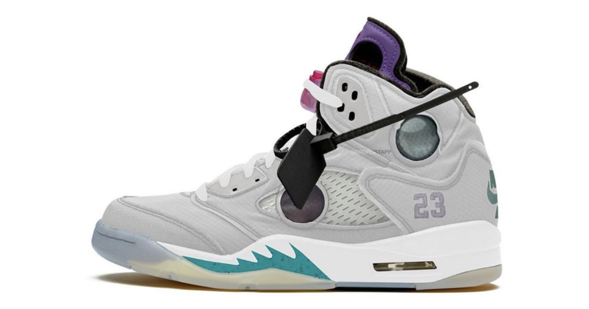 【2020年発売開始】OFF-WHITE X NIKE AIR JORDAN 5