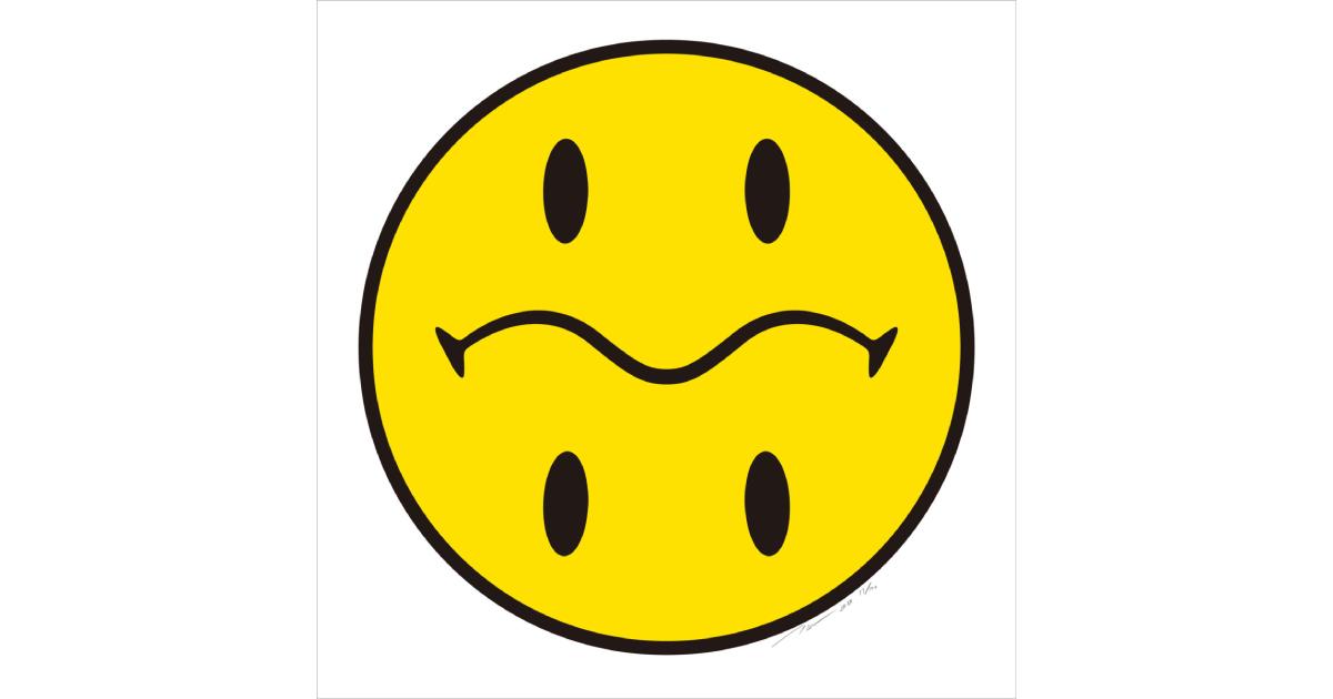【3月24日発売開始】村上隆新作版画 Tonari no Smiley-Kun No.1