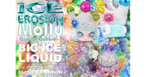 instinctoy-kennyswork-x-instinctoy-ice-erosion-molly-3rd-color-glacial-queen-big-ice-liquid-glitter-rainbow