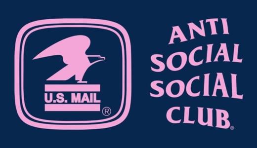 【5月31日発売開始】ANTI SOCIAL SOCIAL CLUB X USPS アンチ ソーシャル ソーシャル クラブ x ユーエスピーエス