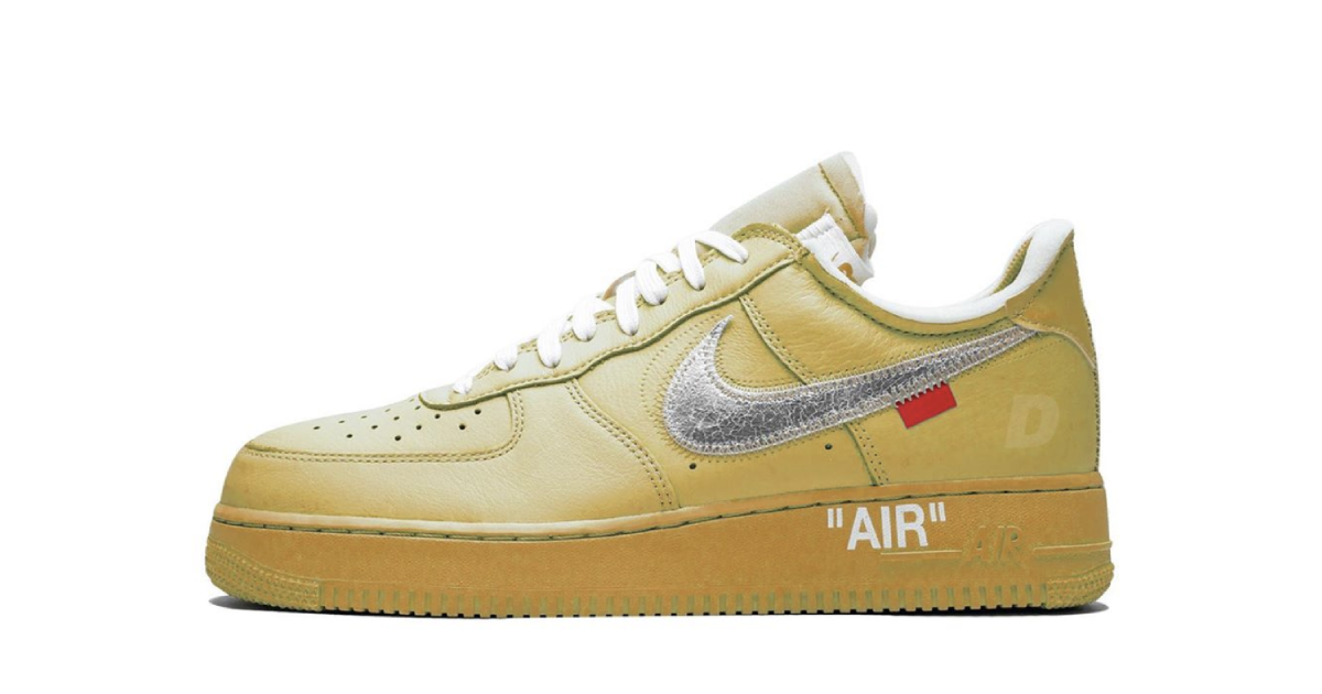 【7月発売開始】OFF-WHITE X NIKE AIR FORCE 1