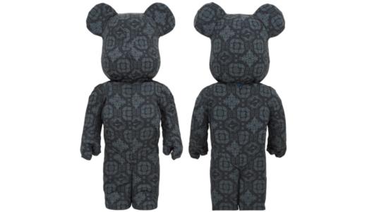 【9月26日発売開始】CLOT X NIKE X BE@RBRICK BLACK 1000% クロット ナイキ ベアブリック ブラック