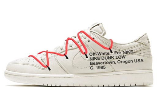 【近日発売開始】OFF-WHITE X NIKE DUNK LOW