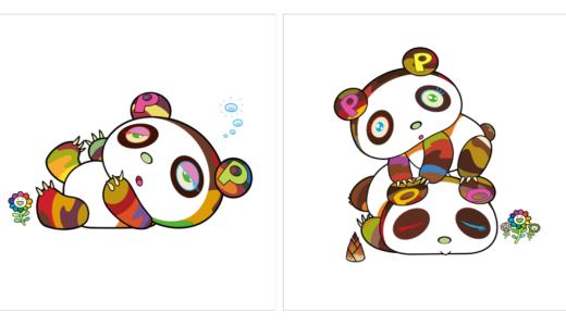 【8月5日発売開始】Tonari no Zingaro 村上隆 パンダの新作版画