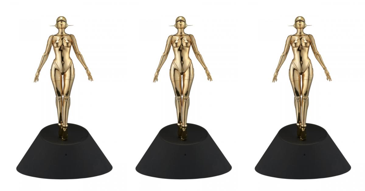 sorayama-hajime-sexy-robot-floating-gold-ver