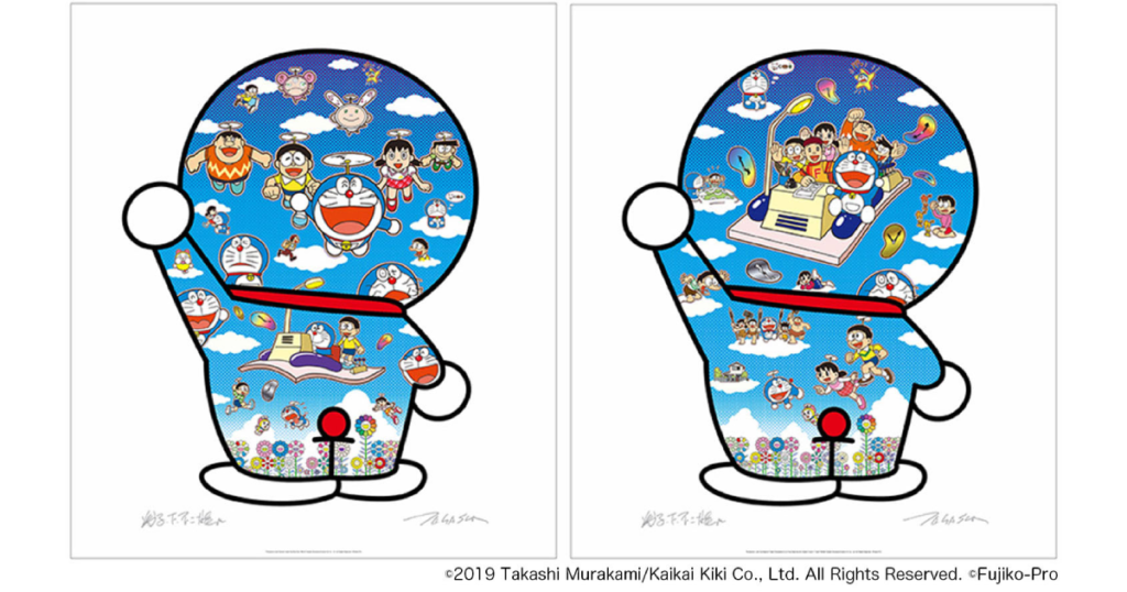 tonari-no-zingaro-murakatakashi-doraemon-collaboration