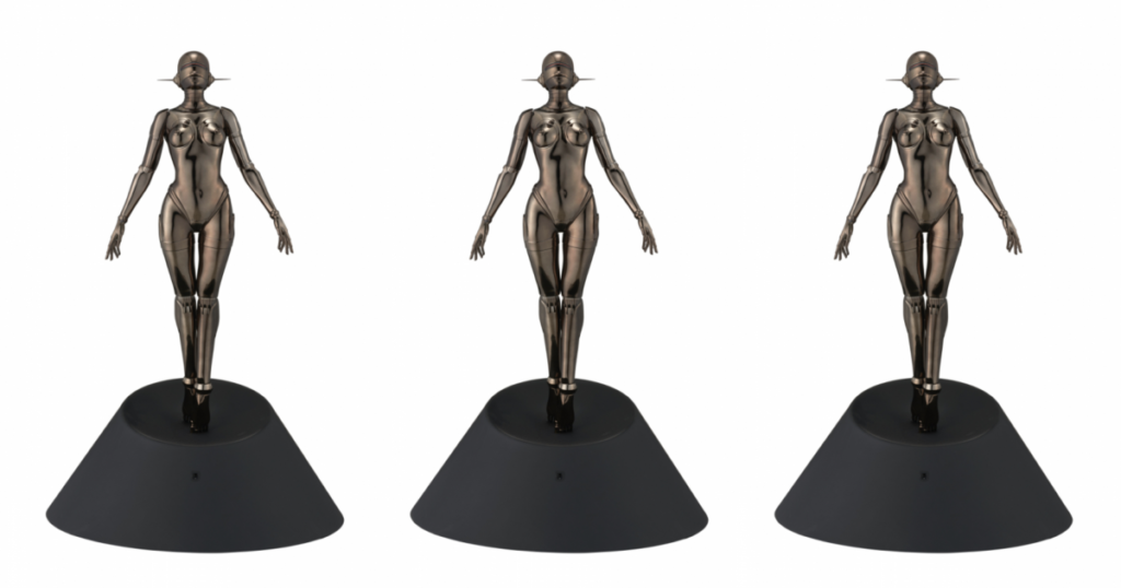 sexy-robot-floating-1-4-scale-edition-black-ver
