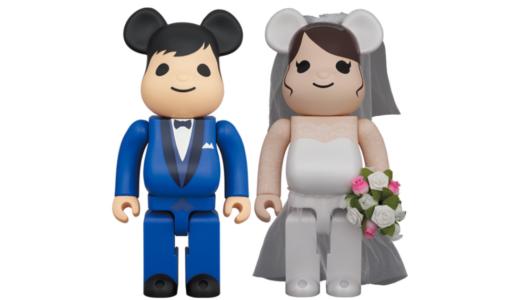 【2月20日発売開始】BE@RBRICK ベアブリック グリーティング結婚 4 PLUS 100% / 400%