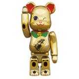 bearbrick-manekineko-shoun-ni-kinmekki-100-400