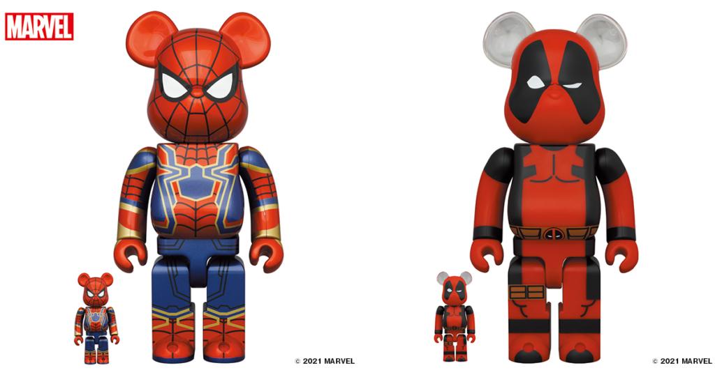 bearbrick-iron-spider-bearbrick-deadpool-100-400-1000