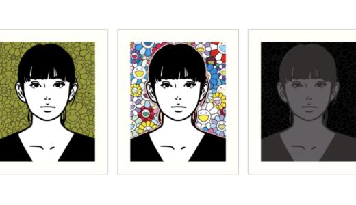 【4月9日発売開始】村上隆 x KYNE EDサイン入り版画3種