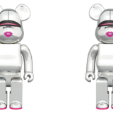bearbrick-sorayama-x-2g-silver-ver-100-400-1000