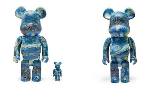 【8月7日発売開始】Vincent van Gogh The Starry Night BE@RBRICK 100%&400% / 1000% フィンセント・ファン・ゴッホ ザ スターリー ナイト ベアブリック